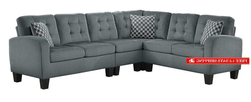 sinclair 84 x 107 fabric sectional sofa