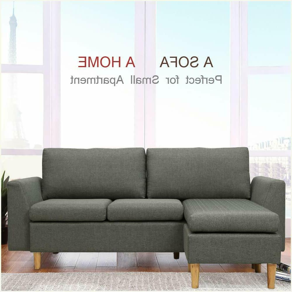 Small couch with Reversible Sofa