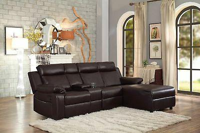 Sofa with Console Small