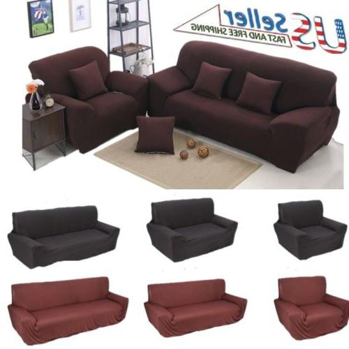 sofa covers shape polyester fabric stretch slipcovers