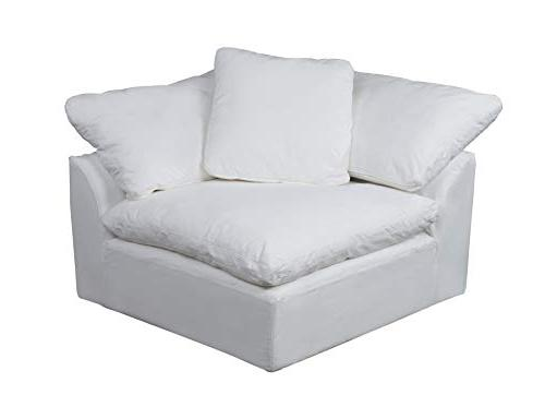 Puff 3 Performance Sectional Slipcovered Sofa