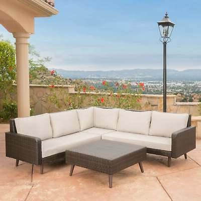 Tahiti 4-piece Sectional Sofa with