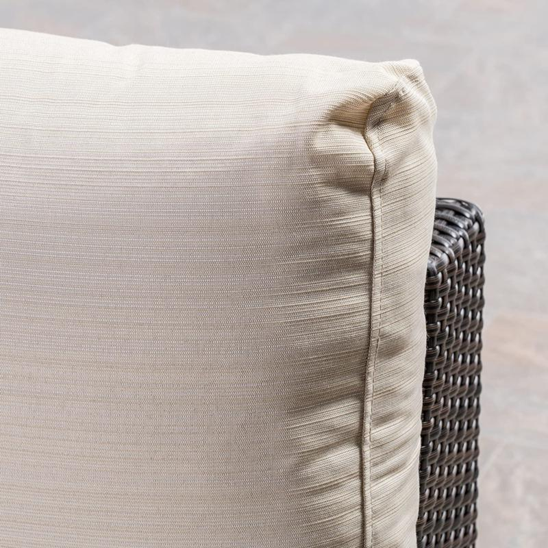 Great Rosa Outdoor Wicker Sectional With