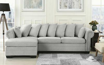 traditional fabric sectional sofa l
