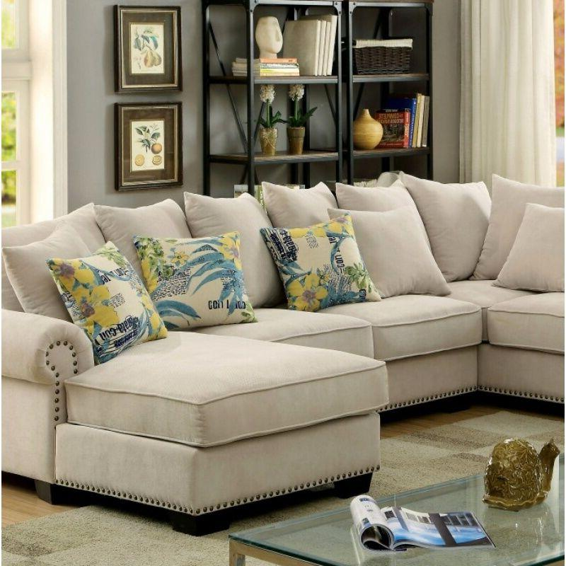 Transitional Sectional Sofa Furniture Made