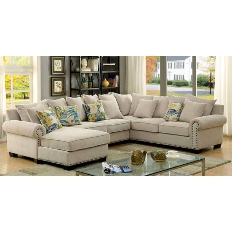 Transitional Sectional Sofa LIving