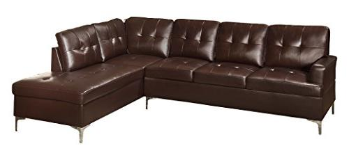 tufted accent sectional sofa