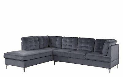 tufted velvet 101 1 xl large sectional