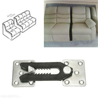 U-Type Metal Iron Plastic Buckle Sectional Furniture Connecto