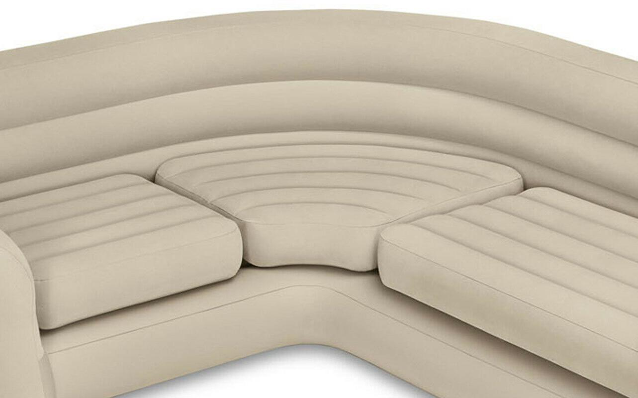 Ultra Comfort Sectional Sofa Bed Up