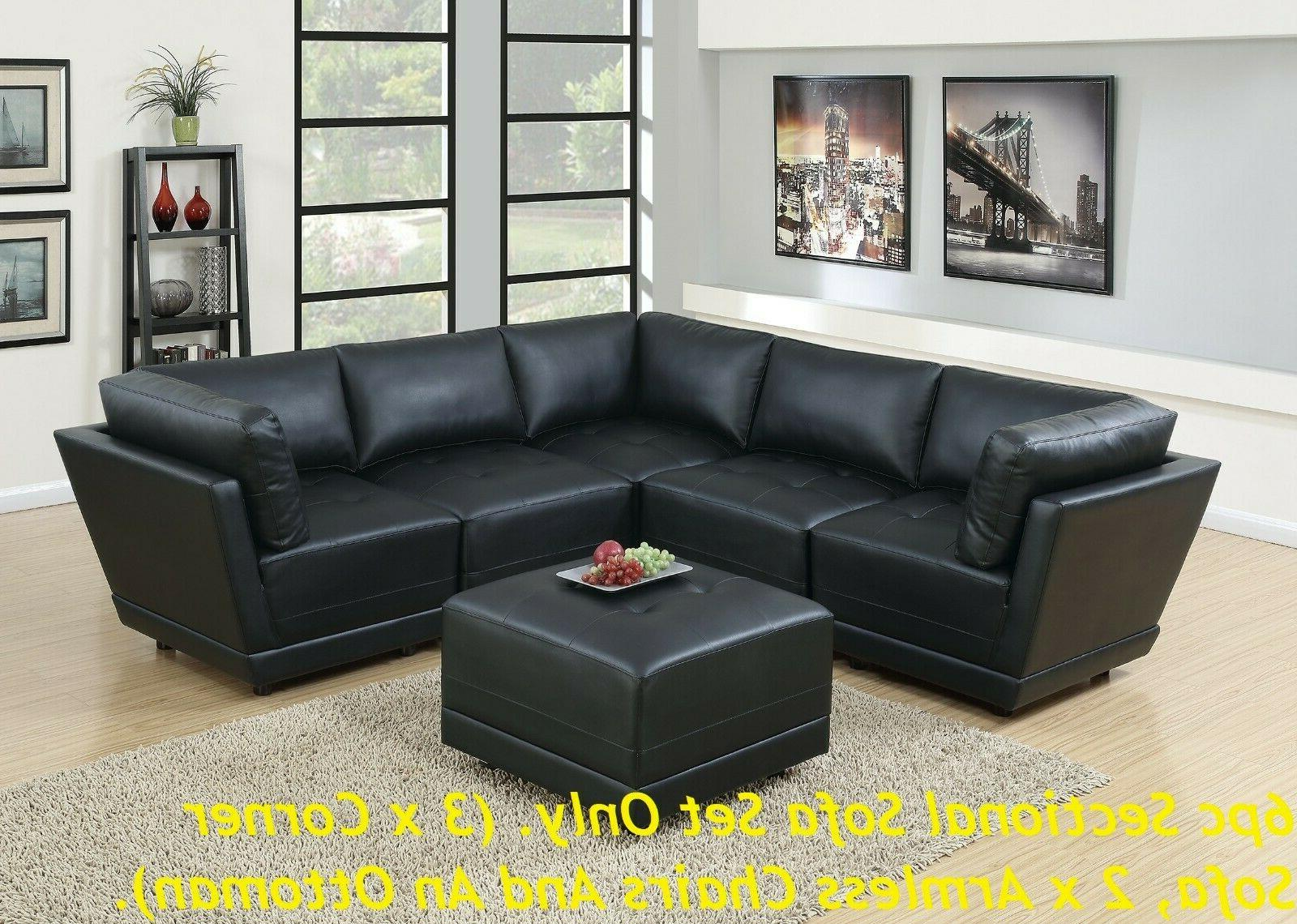 Unique and 1 Black Sectional