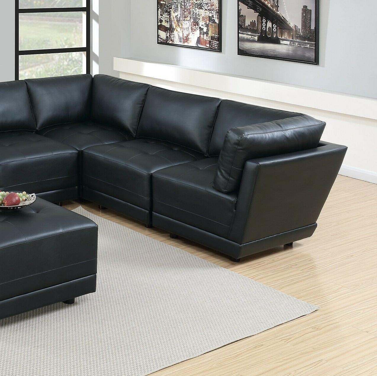 Unique Contemporary 3 Corner 3 and Sectional