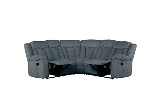 Upholstered Fabric Recliner