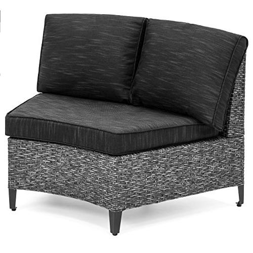 Best Choice Wicker Circle Sectional Sofa Set
