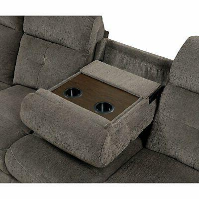Furniture of America Sectional Recliner and