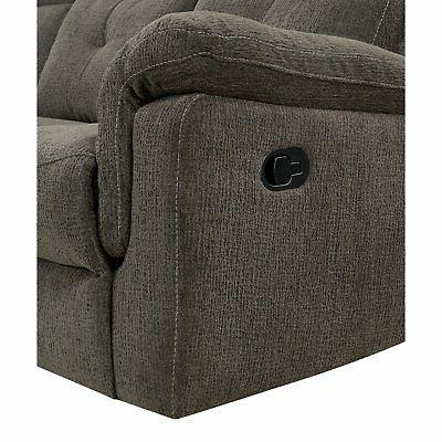 Furniture of America Sectional Sofa with and Storage
