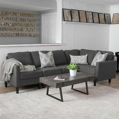 Zahra 5-piece Sectional by Home