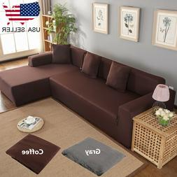 L-Shape 3+2 Seat Stretch Fabric Sofa Cover Sectional /Corner