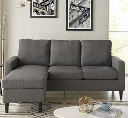 L Shaped Sofa Reversible Sectional Chaise Lounge Couch Apart