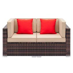 Living Room <font><b>Sofa</b></font> Brown Gradient European