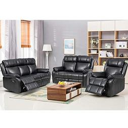 BestMassage Sofa Set Recliner Sofa 3 PCS Motion Sofa Lovesea
