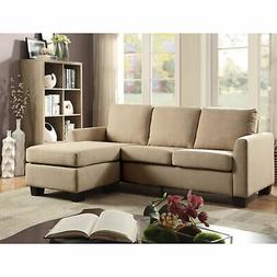 Furniture of America Millbrook Contemporary Linen Sectional