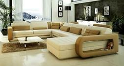 Modern leater sectional sofa set new designs 2015 for living