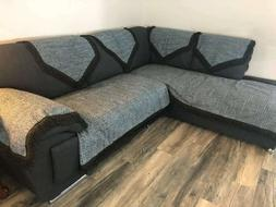 OctoRose Anti-Slip upholstery Sofa Couch Cover, Sectional So