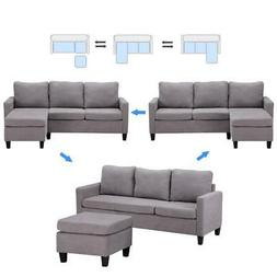 new convertible sectional sofa couch l shaped