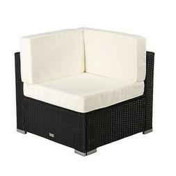 New Outdoor Patio Sectional Furniture PE Wicker Rattan Corne