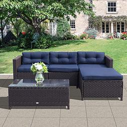 oc orange casual patio furniture set 5