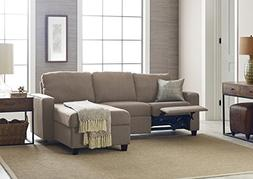 Serta Palisades Reclining Sectional with Right Storage Chais