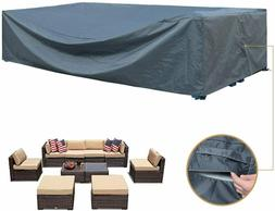 Patio Furniture Set Cover Sectional Sofa Outdoor Table Chair