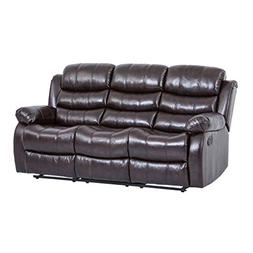 BestMassage Recliner Sofa Sectional Reclining Chair Three se