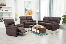 recliner sofa set motion loveseat