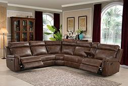 reclining room sectional