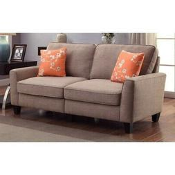 Serta RTA Astoria Collection 73 in. Sofa, Camilla Taupe