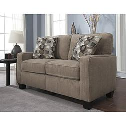 Serta RTA San Paolo Collection 61-inch Platinum Fabric Loves
