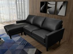 Greatime S2803 PU Convertible section Sofa