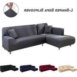 Sectional Couch Cover L-Shaped Sofa Covers Slipcovers L-Type