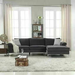 sectional sofa l shape couch furniture modern