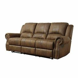 Coaster Home Furnishings Sir Rawlinson Motion Sofa with Nail