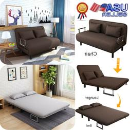 Sleeper Sofa Bed Sectional Futon Couch Daybed Folding  Bed W