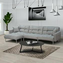 Sofa Bed Couch Sectional Sofas Sleeper L-shaped Sofa Bed Mod
