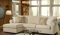 Chelsea Home Furniture Sophie 2pc. Sectional, Bella Buckwhea