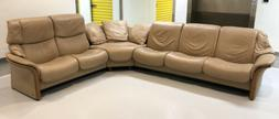 Ekornes Stressless Leather Sectional Set Sofa Couch Loveseat
