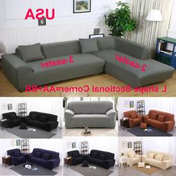 Stretch All Cover Slipcover Couch Cover For 1 2 3 Seater Sec