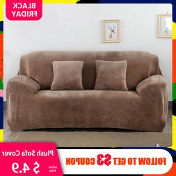 Thicken Plush Elastic <font><b>Sofa</b></font> Covers for Li