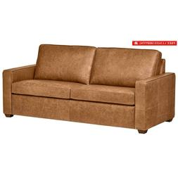top grain leather sofa andrews modern classic