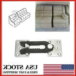 U-Type Iron Sheets Plastic Buckle Sofa Connector Couch Secti